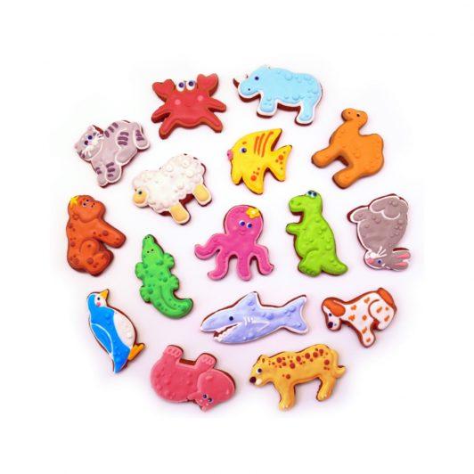 Имбирное печенье в глазури (Разнообразие форм)