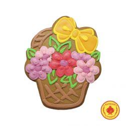 Корзиночка с цветами (270 гр.)