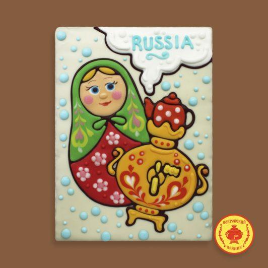 """Матрешка """"Russia"""" (700 гр.)"""