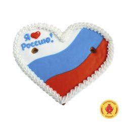"""Сердце """"Я люблю Россию!""""  (270 гр.)"""