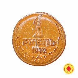 1 рубль (вар. сгущ и грец. орех) (1200 гр.)