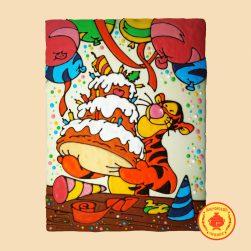 Тигра с тортом (3500 гр.)