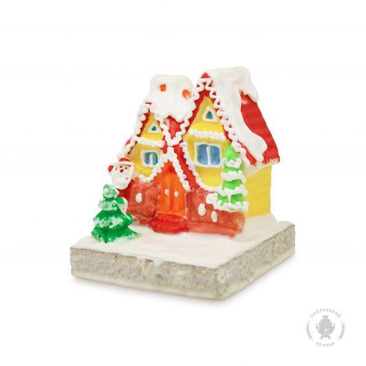 Зимний домик с Дедом Морозом (1000 гр.)
