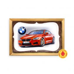 Красная BMW (160 гр.)