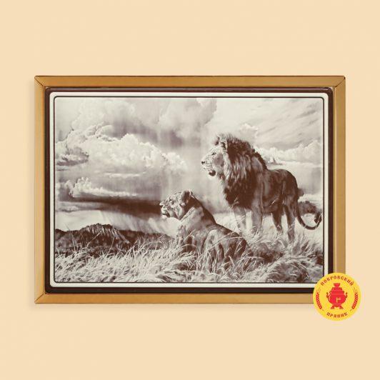 Лев и львица (700 гр.)