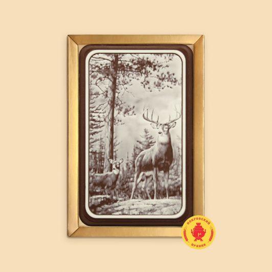 Олень и оленёнок (160 гр.)