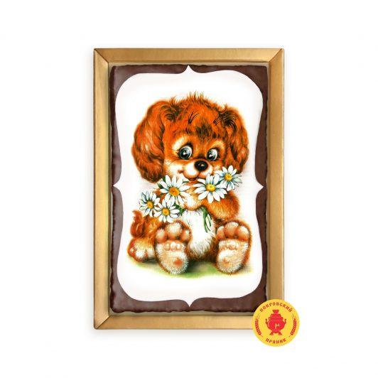 Собачка с ромашками (160 гр.)