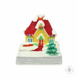 Зимний домик с гирляндой (650 гр.)