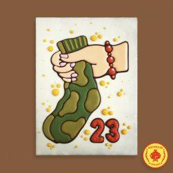 "Носки ""23 февраля"" (700 гр.)"