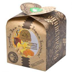 Конфеты желейные со сбитнем, лимоном и имбирем