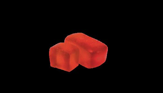 Конфеты желейные со сбитнем и клубникой