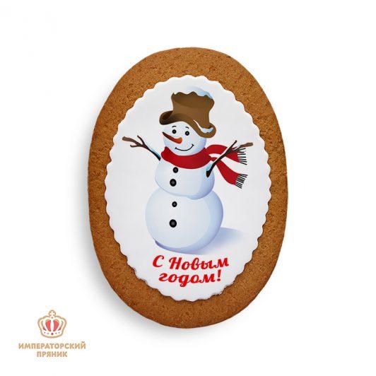 Снеговик в шляпе (40 гр.)