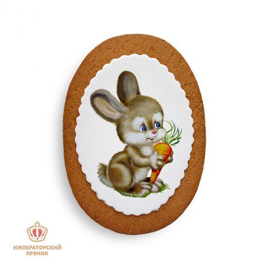 Зайчик с морковкой (40 гр.)