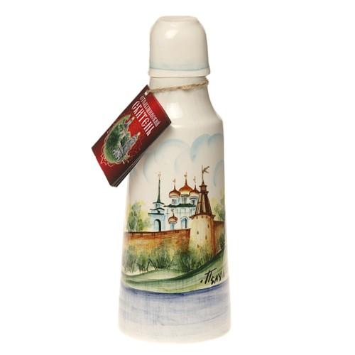 Сбитень классический подарочная бутылка из керамики 180 мл
