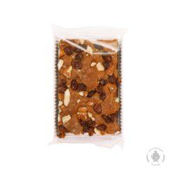 Пряничная коврижка с варёной сгущёнкой, миндалем и изюмом (70 гр.)