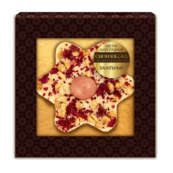 Цветок шоколадный ванильный (35 гр.)
