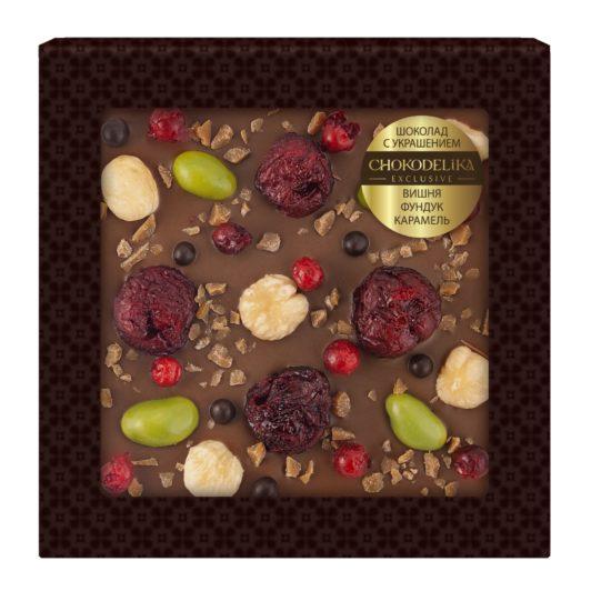 Шоколад с украшением Драгоценности (75 гр.)