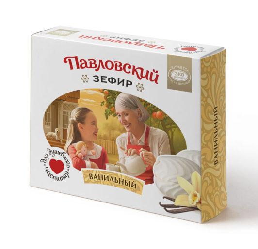 Павловский зефир ванильный