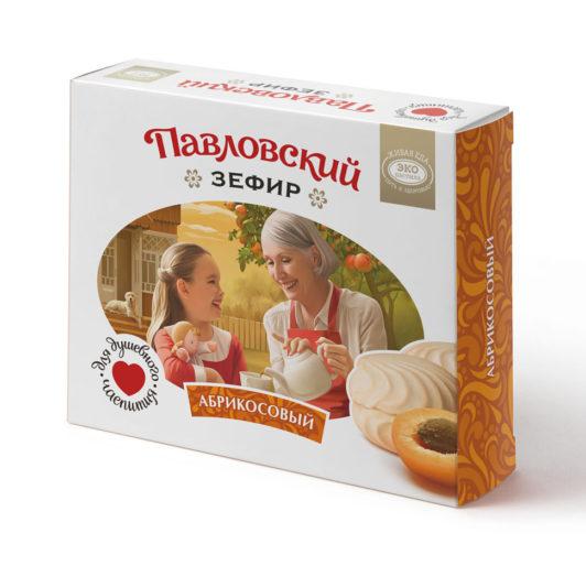 Павловский зефир абрикосовый