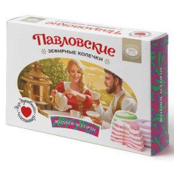 Павловские зефирные колечки со вкусом ягодного ассорти