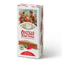 Пастила Русская Яблочно-брусничная