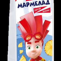 Фикси-мармелад без сахара «Персик-ананас»