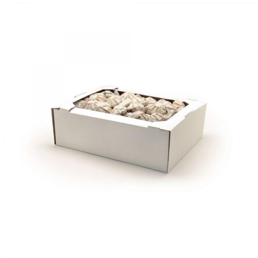 """Печенье """"Курабье"""" в белой глазури (1 кг.)"""