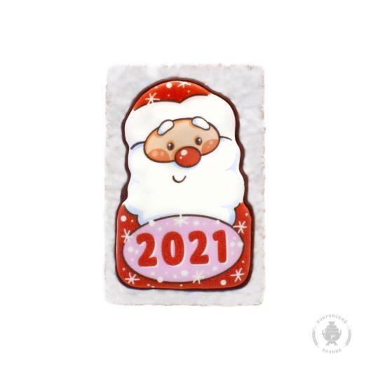 """Дед мороз """"2021"""" (овал)"""