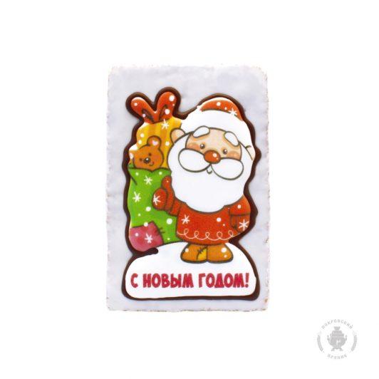 """Дед мороз с мешком подарков """"С новым годом"""""""