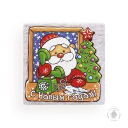 Дед мороз с телефоном (700 гр.)