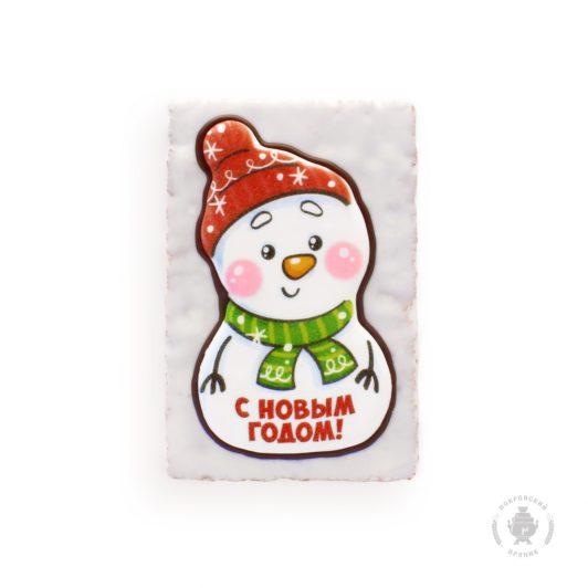"""Снеговик """"С новым годом"""""""