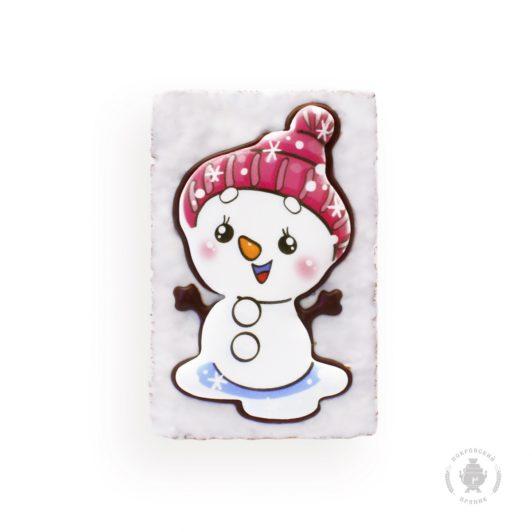 Снеговик в луже