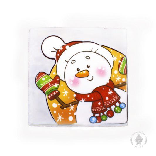 Снеговик в шарфе (700 гр.)