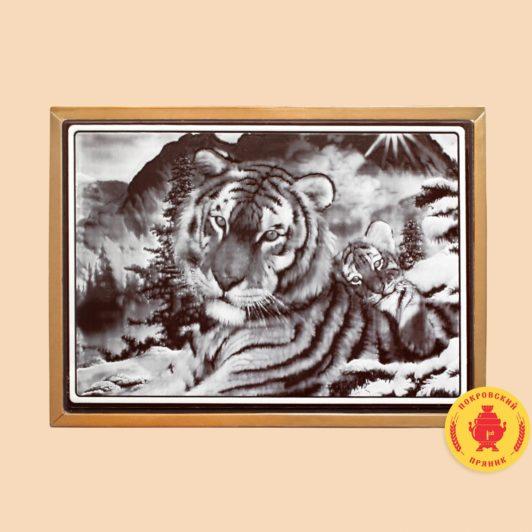Тигр с тигренком (700 гр.)