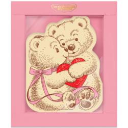 Шоколадная открытка «Мишки»