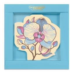 Шоколадная открытка «Орхидея»