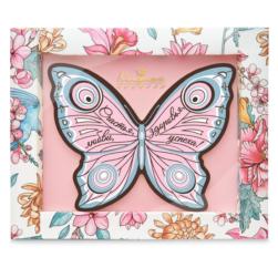 """Шоколадная открытка """"Бабочка"""" розовый"""