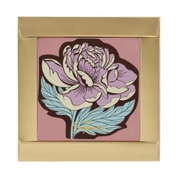 Шоколадная открытка «Пион»