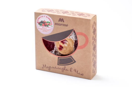 Мармелад с клюквой